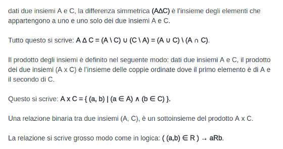 il teorema di Cantor 7 differenza simmetrica