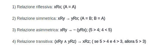 il teorema di Cantor 8 relazioni