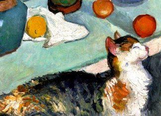 3 riflessi di gatti nell'arte