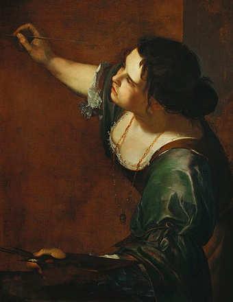 Artemisia Gentileschi, Autoritratto come allegoria della Pittura