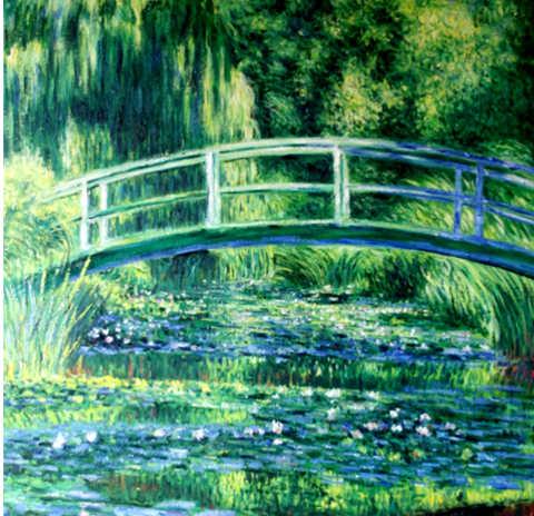 Claude Monet, dipinto, Lo stagno delle Nifee