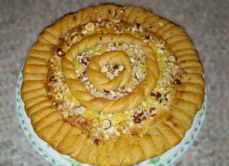 Crostata frangipane integrale senza zucchero