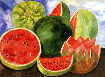 Frida Kahlo il quadro Viva la Vida