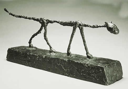 Gatti nell'arte: di Alberto Giacometti, Il gatto