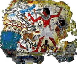 Blu egiziano, dipinto
