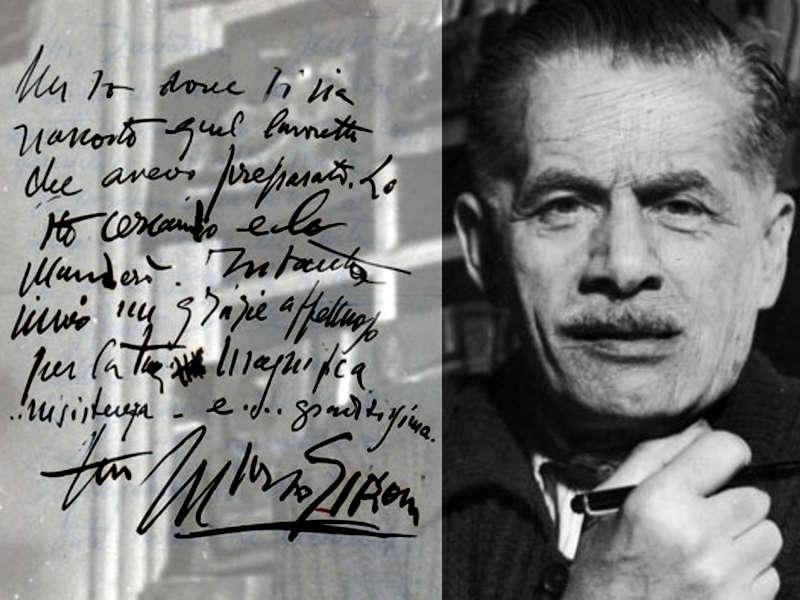 Mario Sironi Un'arte e una grafia memorabili