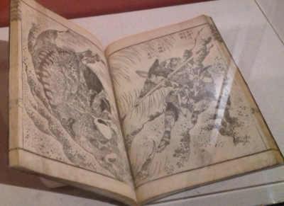 Ukiyo-e foto Manga originale di Hokusai