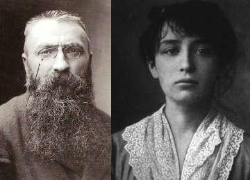 7 Coppie di artisti, amore e arte: Camille Claudel e Auguste Rodin