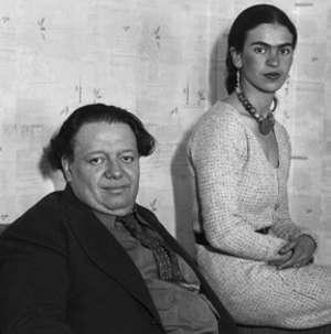 7Coppie di artisti, amore e arte: Frida Kahlo e Diego Rivera