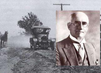 Edward N. Hines, il ciclista che divise in due la strada