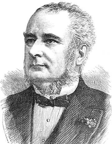 ritratto di J. P. Knight l'inventore primo semaforo