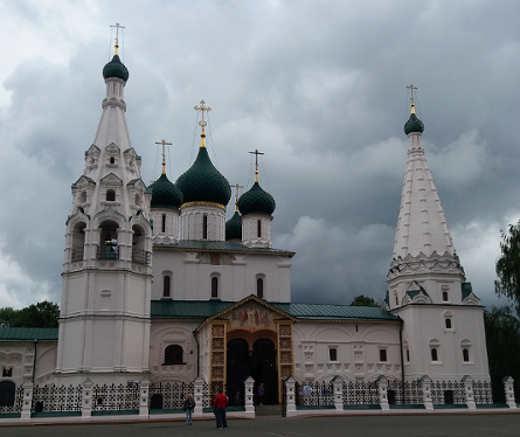reportage crociera la via degli zar: Jaroslavi, Chiesa del Profeta Elia
