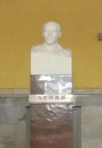 Foto statua Lenin