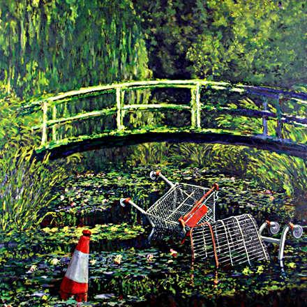 Banksy, Monet