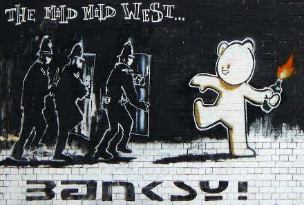 di Banksy a Bristol