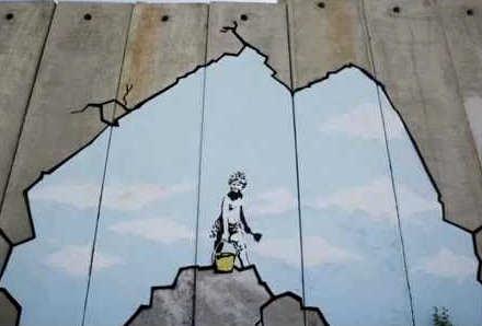 Banksy in Cisgiordania