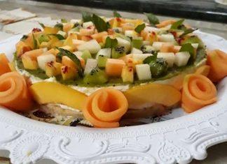 Cheesecake fredda ricetta senza cottura con frutta estiva