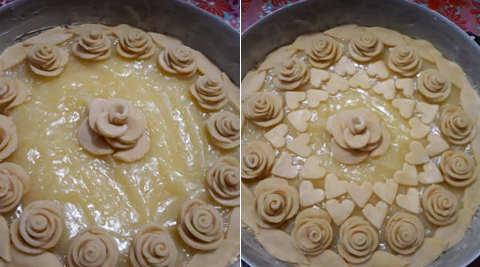 Preparazione Crostata con crema al limone 2