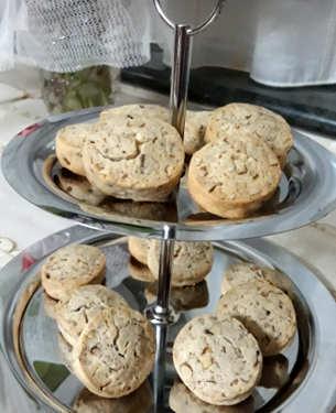 Crostata con crema al limone: i biscotti
