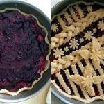 La Crostata di ricotta e confettura ai frutti di bosco, decorazione