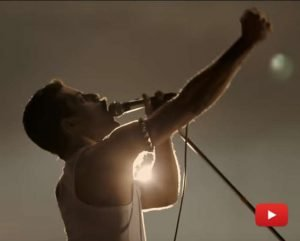 Scena dal film Bohemian Rhapsody