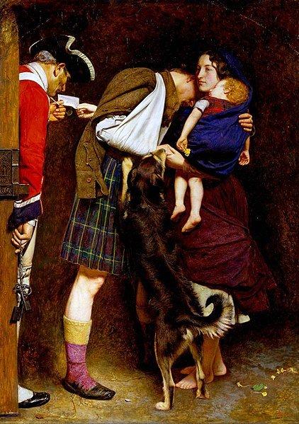 John Everett Millais, L'ordine di rilascio, preraffaeliti