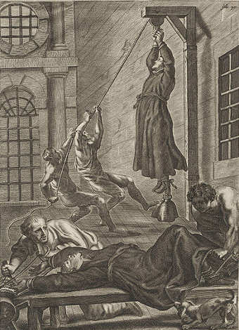 Torture all'epoca di John Gerard nella Torre di Londra