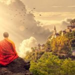 La meditazione dei monaci