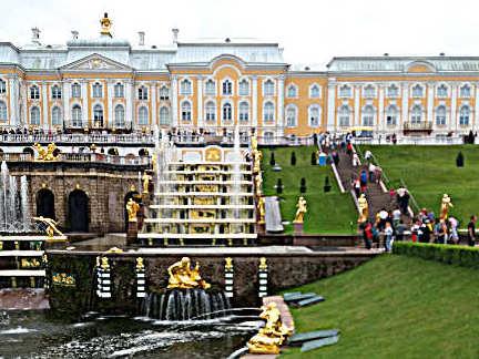 Reportage La via degli zar: San Pietroburgo Peterhof