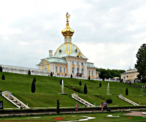 Reportage La via degli zar: San Pietroburgo, vista palazzi
