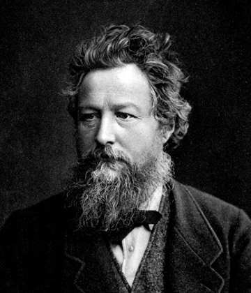 William Morris, ritratto