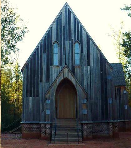 Città fantasma americane: Cahaba, Alabama Chiesa