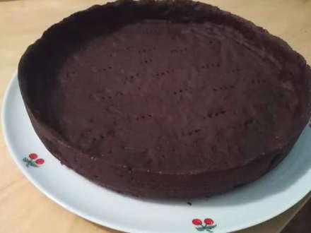 la ricetta della Crostata al cioccolato e caramello salato
