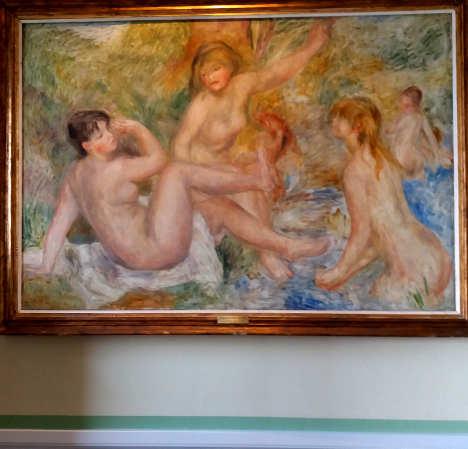 Costa Azzurra: Museo, Quadro di Renoir