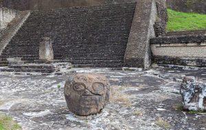 La Piramide di Cholula particolari