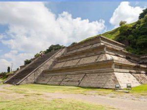 La Piramide di Cholula, vista della parte scoperta