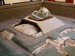 La Piramide di Cholula, plastico