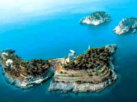 Le isole Li Galli, arcipelago
