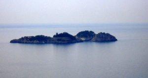 Le isole Li Galli, vista dal mare