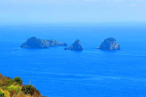 Le isole Li Galli: viste dal promontorio