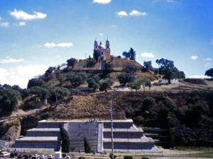 La Santuario della Virgen de los Remedios (o Santuario de Nuestra Señora de los Remedios)