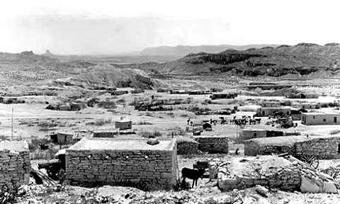 Città fantasma americane: Terlingua nel 1936