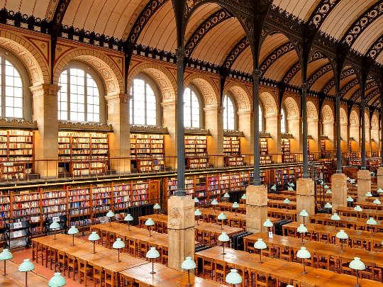 5 bellissime Biblioteche: Biblioteca Sainte-Geneviève Parigi