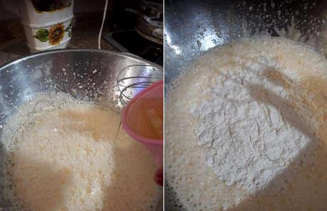ricetta Chiffon cake al limone, preparazione 1