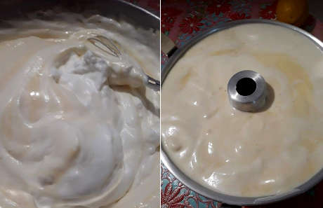 ricetta Chiffon cake al limone, preparazione 3