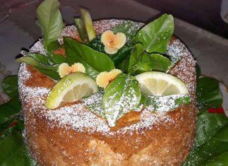 Ricetta Chiffon cake al limone