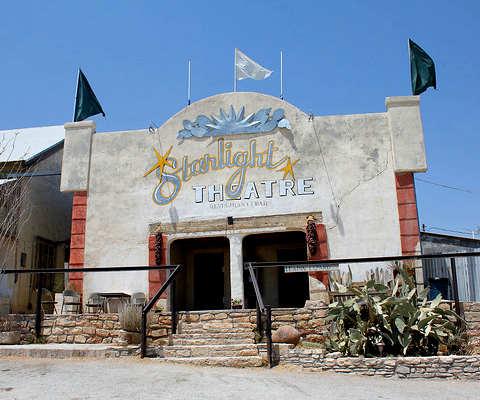 Città fantasma americane: Terlingua teatro