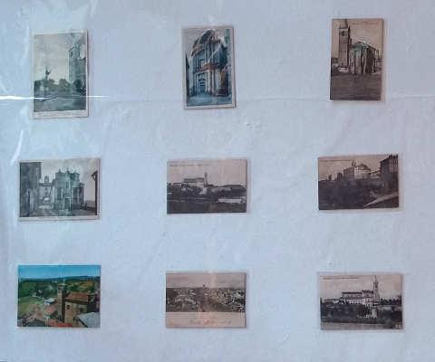cartoline alla 64° edizione della fiera del Tartufo di Moncalvo