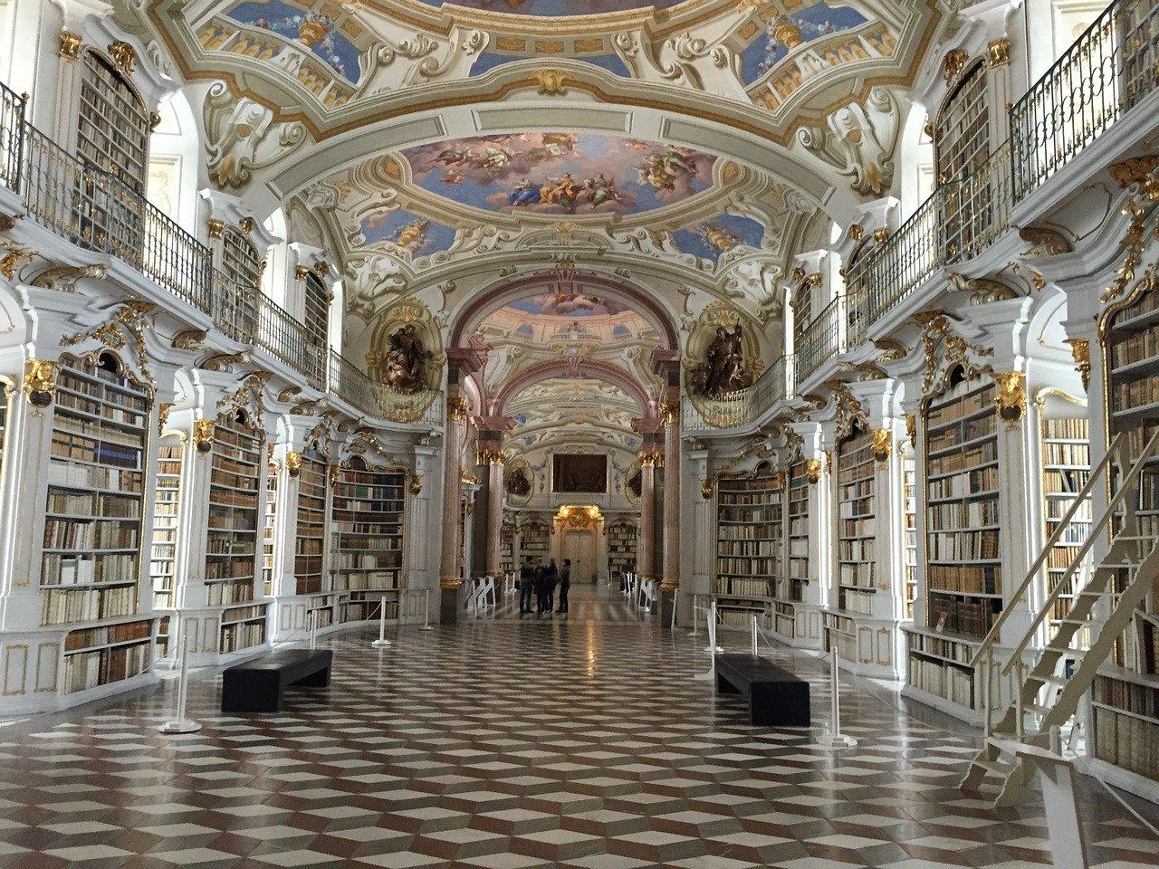 5 bellissime Biblioteche: Biblioteca dell'Abbazia di Admont