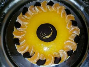IG Cheesecake al mandarino e cioccolato fondente a